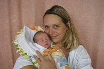 Zuzana Vaculová a dcera Vendula Valová, 47 cm, 2900 g, narozena 23. 8. 2010 ve Valašském Meziříčí