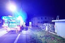 Požár garáže v Jablůnce