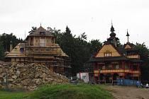 Oprava objektu Libušín a okolních budov.