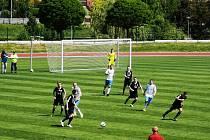 Fotbalisté divizního Valašského Meziříčí hráli v sobotu dopoledne v Novém Jičíně 1:1.
