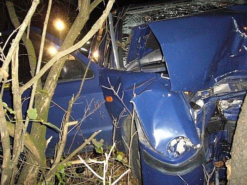 Těžká havárie s velmi vážnými následky ve valašskomeziříčské místní části Podlesí.