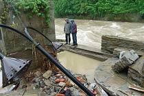 V Hospodě Přístav ve Valašském Meziříčí vznikly kvůli povodním statisícové škody.