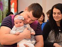 Deset nových nejmladších obyvatel města přivítala v minulém týdnu valašskomeziříčská místostarostka Yvona Wojczková (ANO).