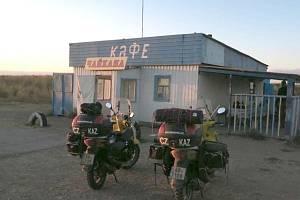 Od Aralského jezera ve střední Asii vedla cesta domů přes Rusko.