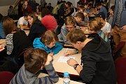 Oblastní turnaj soutěže piškQworky se uskutečnil ve čtvrtek  16.11.2017 v Masarykově gymnáziu ve Vsetíně. Nejlepší týmy postoupí do krajských kol a odtud do finále, které se koná v prosinci v Brně.