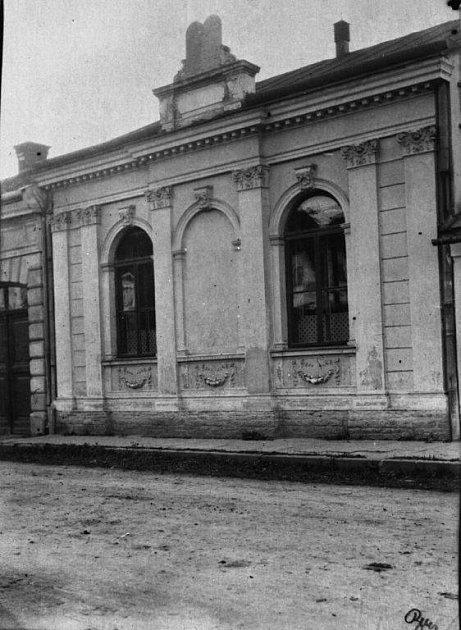 Židovská synagoga ve Štěpánské ulici ve Vsetíně.
