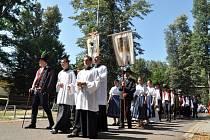 V Rožnově pod Radhoštěm se v neděli 28. července 2013 uskutečnila Anenská pouť.
