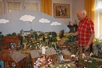 Jan Chovanec má doma unikátní pohyblivý betlém.