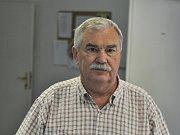 Kustod vsetínských hokejistů Zdeněk Markytán.