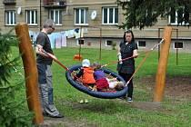 Valašskomeziříčské sídliště Křižná dostalo v rámci revitalizace i nové dětské hřiště. Ilustrační foto.