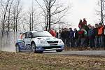 První etapa Valašské rally.