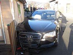 Dopravní nehoda ve Vidči