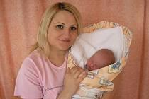 Věra Kadlecová a syn Jiříček Kadlec, 50 cm, 3600 g, 11. 10. 2010