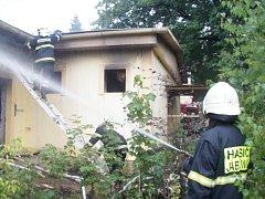 K požáru v nevyužívaném jednopodlažním objektu bývalé školky došlo v neděli v podvečer ve Valašském Meziříčí.