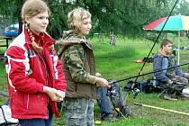V Podlesí se v sobotu uskutečnili dětské závody v rybaření.