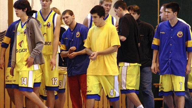 Juniorští basketbalisté Valašského Meziříčí.