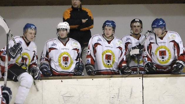 Hokejisté Rožnova pod Radhoštěm.