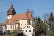 Kostel sv. Václava Světlá nad Sázavou