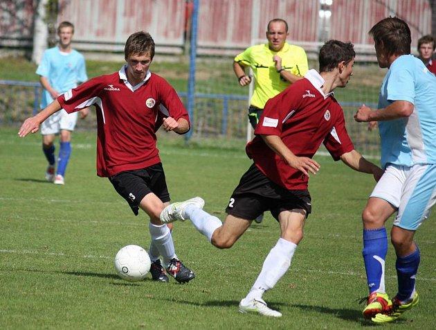 Tři góly. Takový mají průměr vstřelených gólů mladší dorostenci brodského Slovanu.