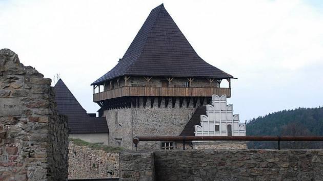 Ochoz věže Samson.