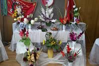 Výstava květin v Krucemburku.