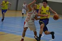 Bilanci půl na půl v domácím prostředí měli ve Východočeské lize basketbalisté Jiskry, kteří porazili Českou Třebovou, ale nestačili na Svitavy C.