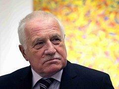 Bývalý prezident České republiky Václav Klaus. Ilustrační foto.