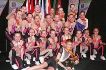 Dvě stříbrné a jednu bronzovou příčky na evropském šampionátu v areobiku v jihoholandském městě Dordrechtu vybojovala družstva dívek BM FITNESS Havlíčkův Brod.
