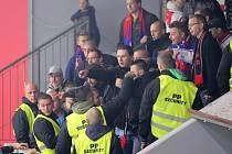 Příznivci Třebíče mají problémy s pořadatelskou službou v Havlíčkově Brodě již od loňského play-off.