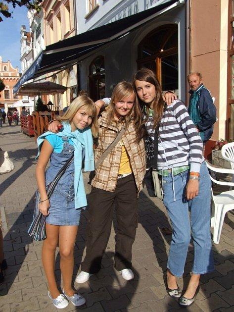 První školní den v Havlíčkově Brodě.