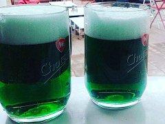Speciální Velikonoční ležák z pivovaru Chotěboř si mohli vychutnat i návštěvníci proslulé piknikové kavárny Björnsonův sad.