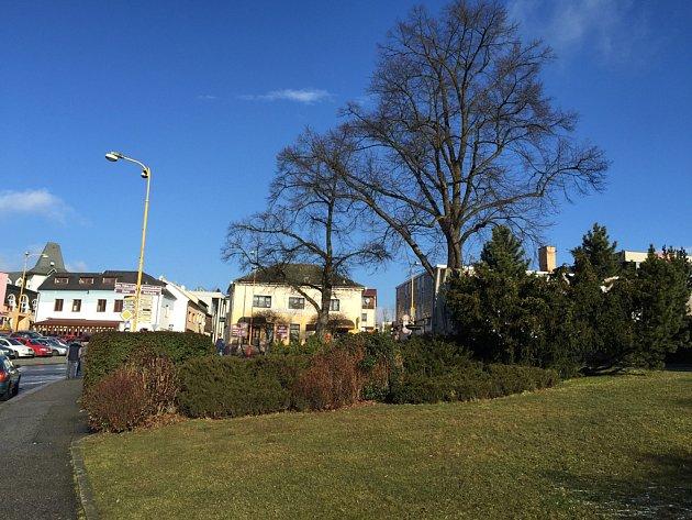 Náměstí ve Světlé nad Sázanou. Ilustrační foto.