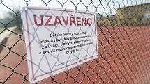 Sportovní areál Plovárenská v Havlíčkově Brodě je uzavřený. Jak to vypadá v Třebíči?