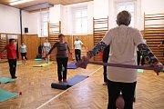 Zdravotní cvičení pro seniory s lektorkou Jaroslavou Kabelkovou