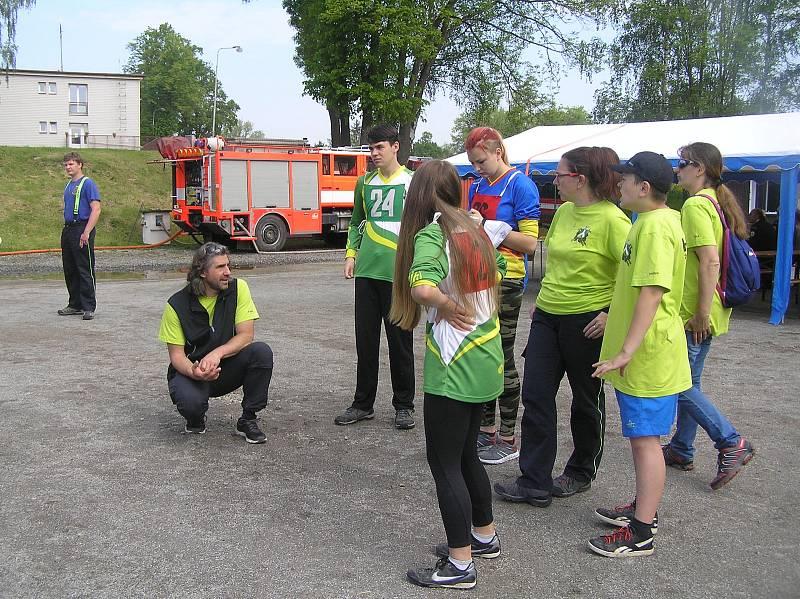 V okresním kole ze sebe mladí hasiči vydali to nejlepší.