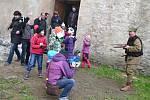 Akci nazvanou Uspávání strašidel uspořádalo ledečské Mateřské centrum Ledňáček při Oblastní charitě Havlíčkův Brod.