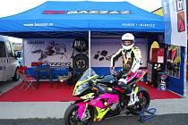 Jedním z autorů je v projektu Trénuj s námi brodský motocyklový závodník Michal Prášek (na snímku).