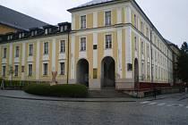 Ředitelství Fokusu Vysočina sídlí v objektu na Štáflově 2003.