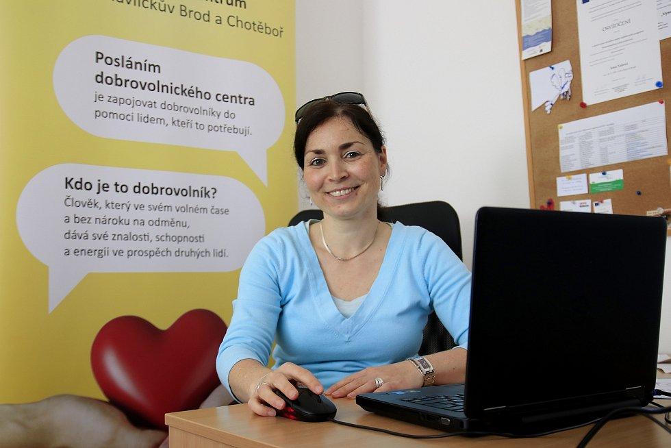 Jana Valová, koordinátorka havlíčkobrodského a chotěbořského centra