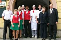 Restaurace a penzion U Kubínů v Přibyslavi.