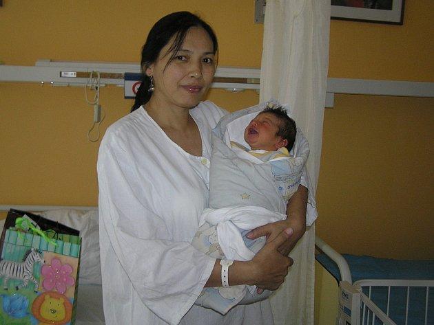 Prvním dítětem roku 2015 je v Havlíčkově Brodě Stanislav Žák, přišel na svět 2. ledna.