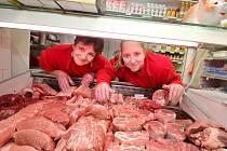 Vepřové maso v domácím řeznictví (ilustrační snímek)