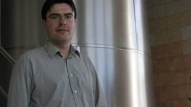 Ředitel havlíčkobrodského pivovaru Jiří Hušek.