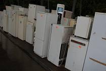 Společnost Rumpold RCHZ se zabývá zpracováním a recyklací chladniček. Ilustrační foto.