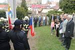 Slavnosti přihlížela řada místních občanů i hostů.