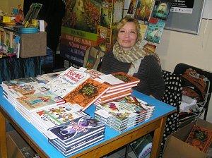 Spisovatelka Petra Braunová dá před volbami přednost knihám.