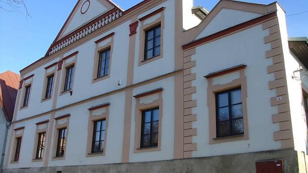 Kurfürstův dům, současné sídlo muzea v Přibyslavi.