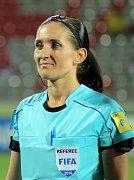 Olga Zadinová odpískala na MS U17 celkem tři utkání.