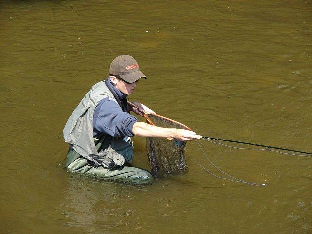 Při muškaření používají rybáři jako nástrahu umělou mušku, která má rybám připomínat jejich přirozenou potravu – hlavně hmyz, ale ijiné živočichy nebo rostliny.