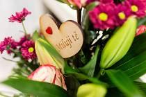 Prodej květin a dárků k Valentýnu ve Floristice Sonny v Havlíčkově Brodě.
